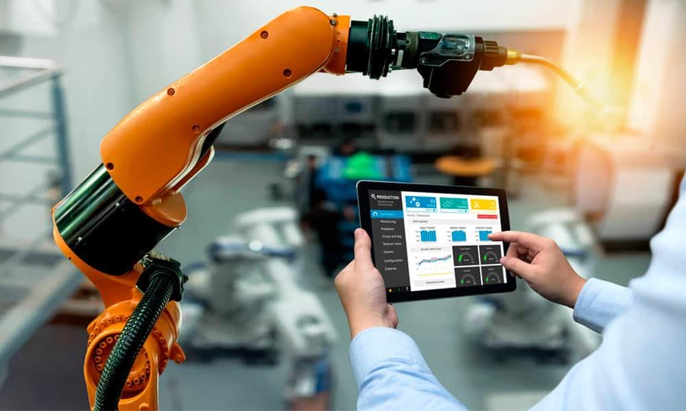 Tipos de robots industriales y sus características
